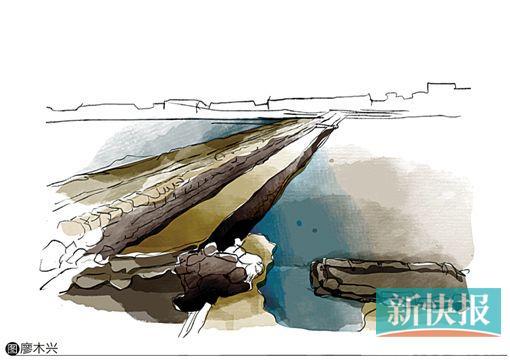 2014年两大台风摧毁盐田海滩涂 6000吨原盐溶为海水损失数百万