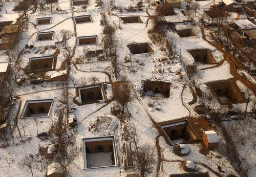 人类穴居的现代遗存——地坑院