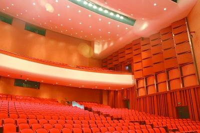 近年来,大量二、三线城市掀起剧院建设热潮。图为马鞍山大剧院。资料图片