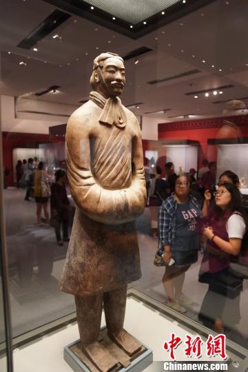 300件重要文物一日看尽秦汉文明 国博限流每天3000人