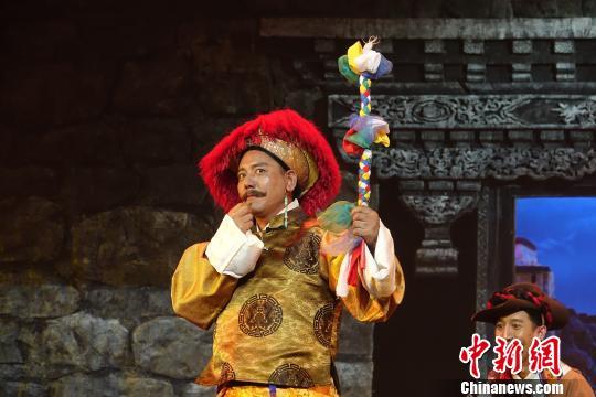 西藏传统藏戏走上舞台《朗萨雯波》公演圈粉