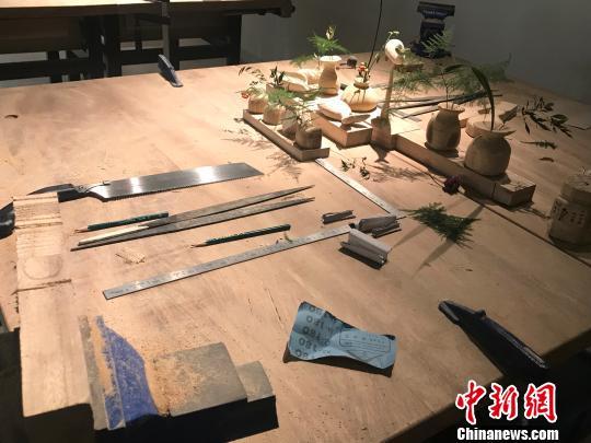 """50余把古琴昆明展出古琴""""青鸟""""携传统文化""""飞""""入春城"""