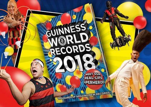 图1 2018《吉尼斯世界纪录大全》(图片来源:吉尼斯世界纪录官网)