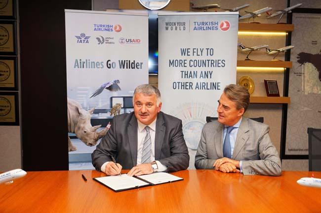 2017年11月7日,土耳其航空签署了由野生动物保护联盟运输专责小组发起的《白金汉宫宣言》。