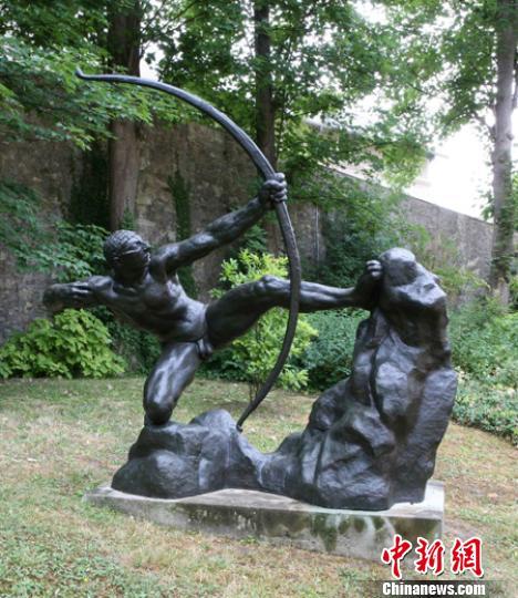 布德尔雕塑大展亮相清华推介罗丹最优秀弟子