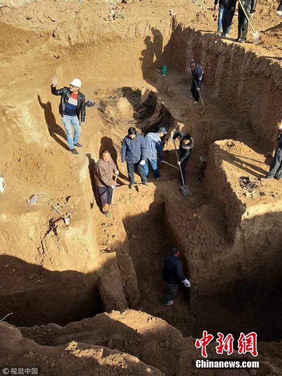 陕西发现四座秦汉古墓
