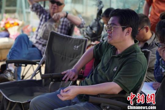 电影《青年叶剑英》总导演王朝民 钟欣 摄