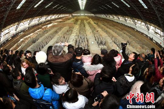 258万人次走进陕西博物馆迎新年