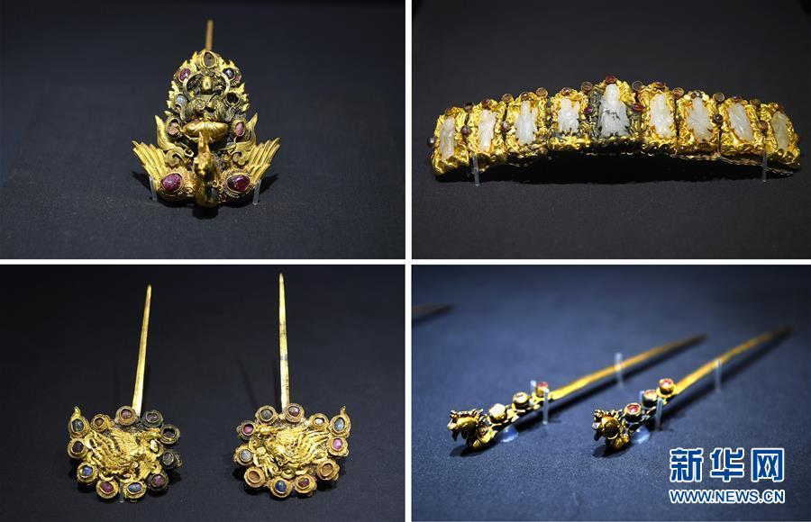 (文化)(2)江西省博物馆推出明代王妃首饰展
