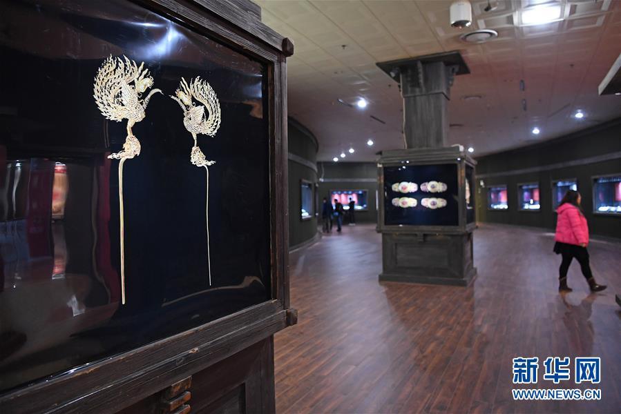 (文化)(3)江西省博物馆推出明代王妃首饰展