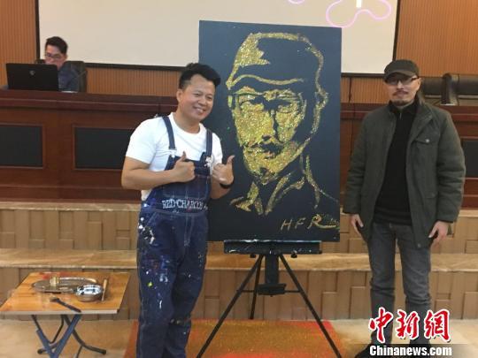 中国演画创始人黄凤荣:做有情怀的跨界艺术家