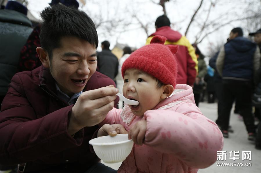 宁夏固原举行腊八节民俗活动
