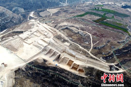 中国史前规模最大城址集中出土百余片卜骨