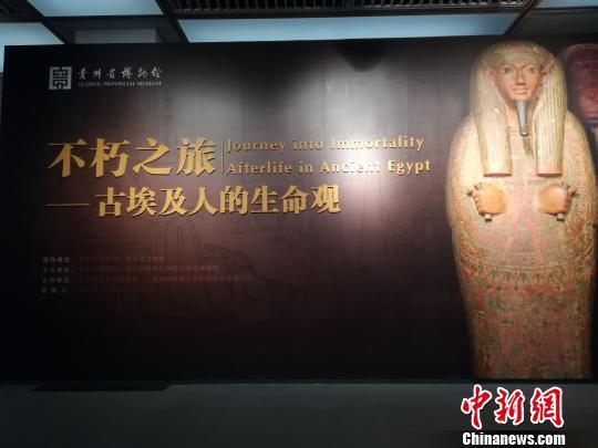 大型古埃及文物展走进中国首站贵阳