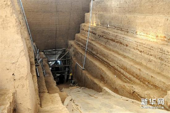 """(图文互动)(4)考古证实:安阳曹操高陵曾遭有计划""""毁陵"""""""