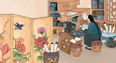 清朝人如何装修书房