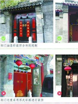 胡同里满目雕梁画栋还是北京吗