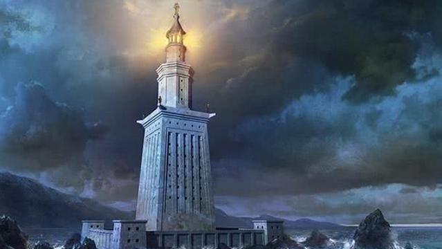 """""""世界七大奇迹""""里有座灯塔"""