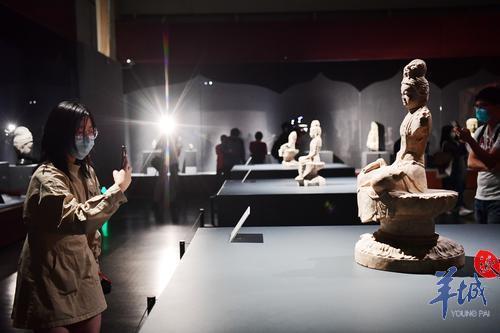 (視頻➕組圖)精美!世遺寶藏龍門石窟85件珍品亮相粵博