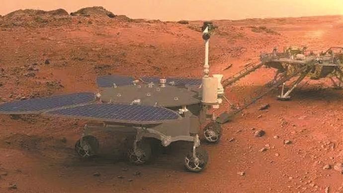 """中国首辆火星车""""祝融号""""你了解多少?"""