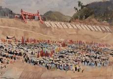 """观展记   听老一辈艺术家口述峥嵘岁月:广州美术学院""""987口述史工程""""选展开展"""